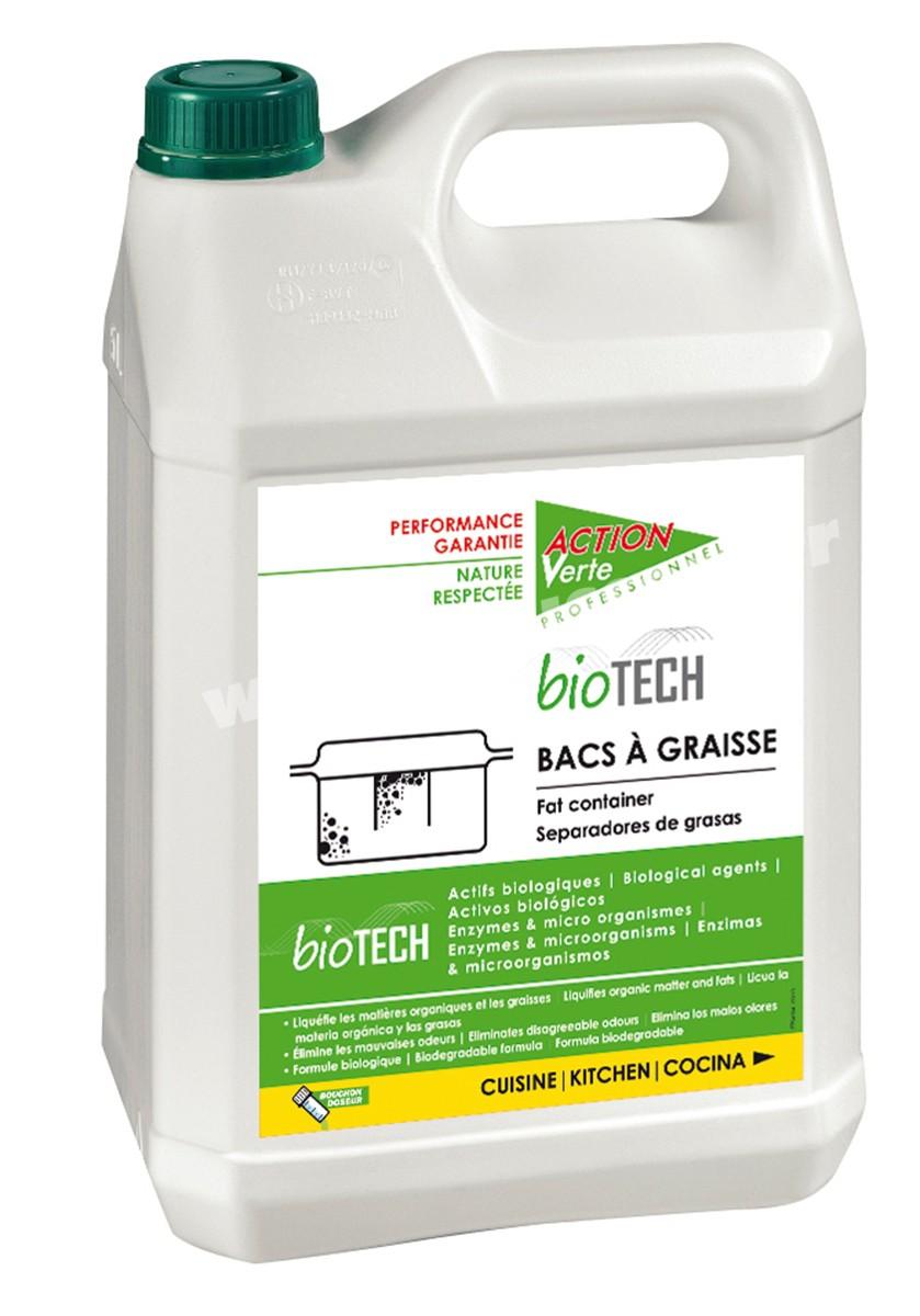 Nettoyant Bac A Graisse Biotech Action Verte Proven 5l Ecolabel Produits