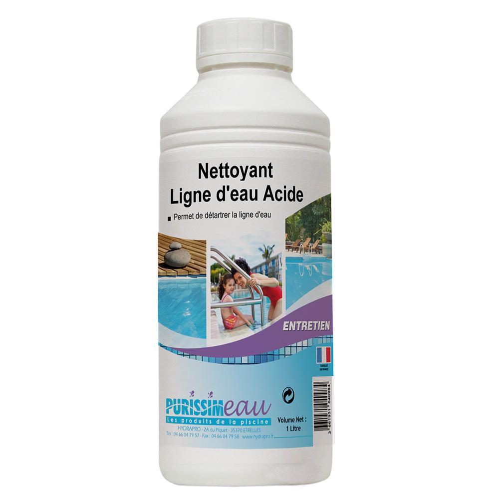 Nettoyant ligne d eau acide - HYRAPRO - 1L - Produits piscine - Produits bd47e266eef