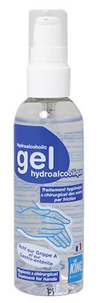 Gel hydroalcoolique - KING - SICO - 100ML / 500ML / 1L / 5L