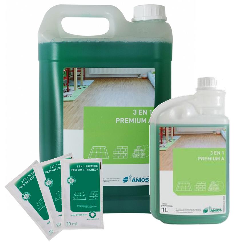 Détergent désinfectant odorisant 3 EN 1 PREMIUM A - ANIOS