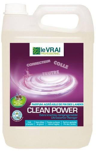 Nettoyant multi-surfaces Clean Power - LE VRAI Professionnel - 5L