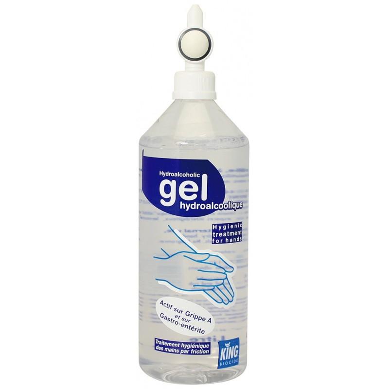Desinfectant Gel Hydroalcoolique King Flacon Pompe 400 Ml Sodisgro