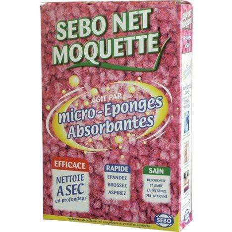 Poudre micro-éponges absorbantes NET moquette - SEBO - 500g