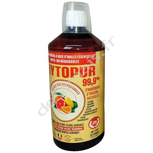 Détergent PHYTOPUR 99.9 % agrumes - 1 litre