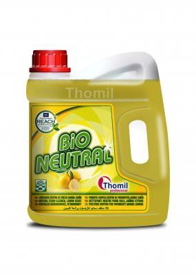 Nettoyant sols THOMIL Bio Neutral Citron - 4L
