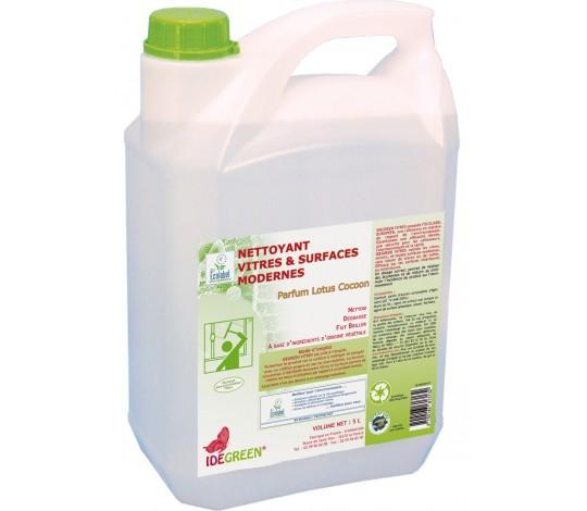 Nettoyant Vitres et Surfaces - IDEGREEN - 5L - Ecolabel