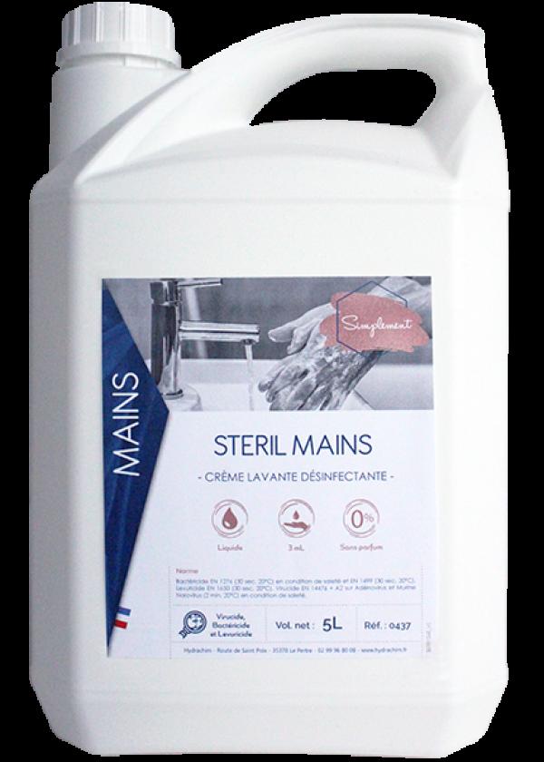 Stéril Mains (bactéricide,fongicide et virucide) SIMPLEMENT-HYDRACHIM-