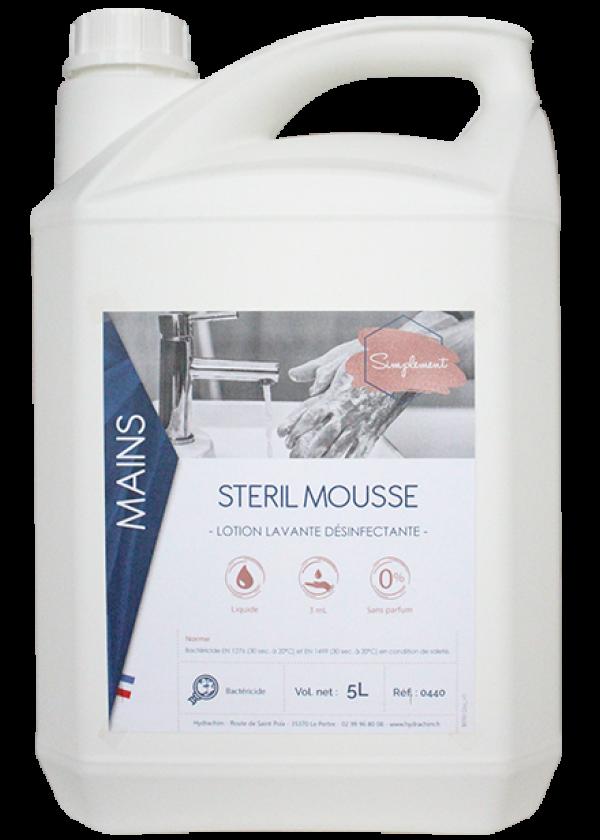 Stéril mousse SIMPLEMENT 5L-HYDRACHIM-