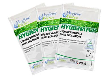 Liquide vaisselle écologique PRO PLONGE V - HYGIENATUR - dosettes 20ML - Ecolabel