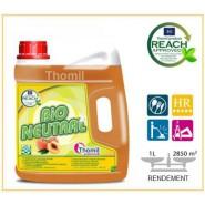 Nettoyant sols THOMIL Bio Neutral Pêche  -  4 L