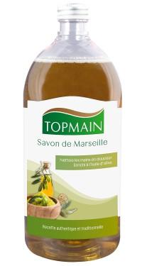 Savon de Marseille liquide - TOPMAIN - PROVEN - 1L