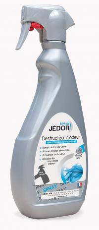 Spray destructeur d'odeurs JEDOR - Pulverisateur de 500ml