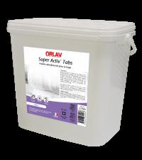 Pastille linge ORLAV SUPER ACTIV' TABS - 3.25KG - HYDRACHIM