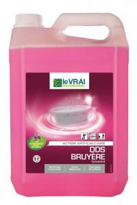 Désinfectant Nettoyant Sanitaires DDS Bruyère - LE VRAI Professionnel - 5L
