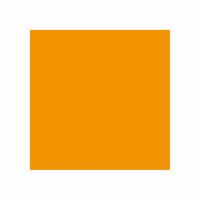 """Serviettes """"double-point"""" - GARCIA DE POU - 33x33 - Clementine"""