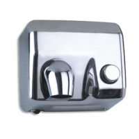 Sèche-mains manuel 58L - GARCIA DE POU - Argenté Inox