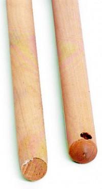 Manche bois cantonnier douille métal - BROSSERIE THOMAS - 1.40m
