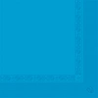 Serviettes 2 plis - GARCIA DE POU - 39x39 - Bleu turquoise