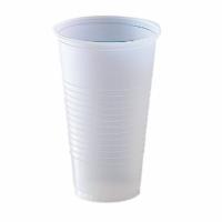 Gobelets plastique translucide jetables - GARCIA DE POU - 3 tailles
