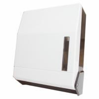 Distributeur essuie-mains plié - GARCIA DE POU - ABS blanc