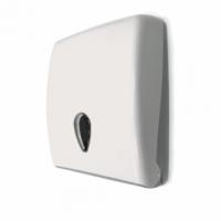 Distributeur essuie-mains plié - ABS blanc- GARCIA DE POU -