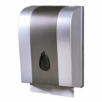 Distributeur essuie-mains plié - GARCIA DE POU - ABS Gris