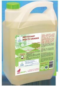 Nettoyant écologique multi-usages - IDEGREEN - 5L - Ecolabel