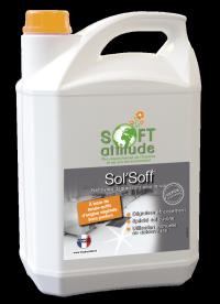Nettoyant dégraissant sols Sol'soft - SOFT' ATTITUDE - HYDRACHIM - 5L