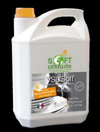 Liquide vaisselle VSL'soft - SOFT' ATTITUDE - HYDRACHIM - 5L