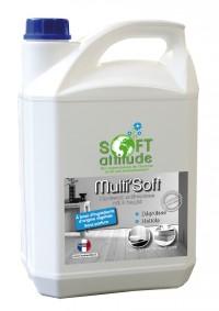 Dégraissant Sols et Surfaces Multi'soft - SOFT' ATTITUDE - 5L