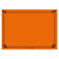 "Set de table ""Snack""  - 31 x 43cm - Orange - GARCIA DE POU"
