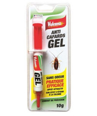 Insecticides VULCANO Gel Cafards 10g-ORCAD-