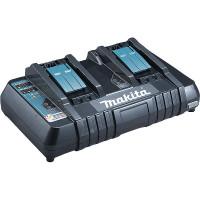 Chargeur rapide 2 batteries Makstar Li-Ion 14,4 à 18 V - DC18RD - MAKITA