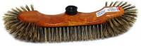 Balai 1/2 tête en soie grise - BROSSERIE THOMAS - S/45 - plastique laqué