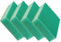 Sachet 4 x Eponge HACCP COLOR CLEAN vert - DE WITTE