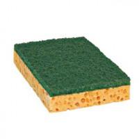 Eponge végétale blonde Tampon vert PREMIUM - Petit modèle - PAD
