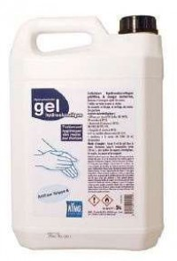 Gel hydroalcoolique - KING - 5L