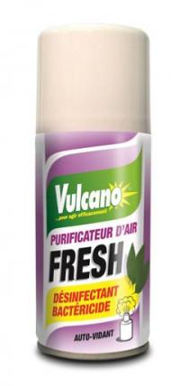 Assainisseur VULCANO Fresh Bactéricide 150ml-ORCAD-