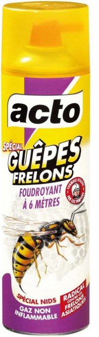 Insecticide guêpes/frelons - ACTO - 500mL