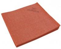 Sachet 5 x Micro-Fibre-Non-Tissé 40 x 38 cm Rouge - ECO - DE WITTE