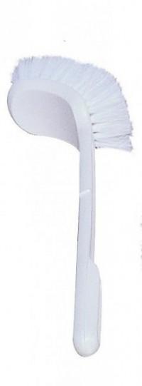 Brosse WC coudée nylon - BROSSERIE THOMAS