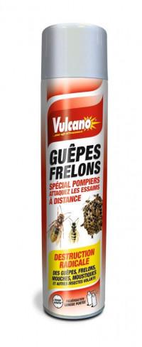 Insecticide VULCANO guèpes frelons aérosol 600ml-ORCAD-