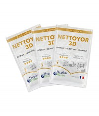 NETTOYOR 3D - carton de 250 doses de 20ml
