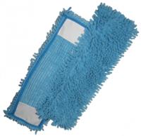 Mop Micro-Fibre 44 x 13 cm ''Rasta Pocket'' bleu - DE WITTE