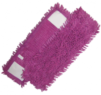 Mop Micro-Fibre 44 x 13 cm ''Rasta Pocket'' violet - DE WITTE
