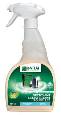 Nettoyant désinfectant poubelles - LE VRAI Professionnel - 750ml