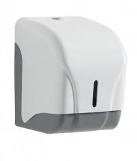 Distributeur papier hygiènique feuille à feuille - ROSSIGNOL - ABS Blanc