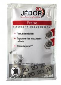 Détergent surodorant JEDOR 2D - Carton de 250 dosettes - HYDRACHIM