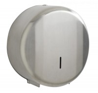 Distributeur papier hygiènique Mini Jumbo - ROSSIGNOL - Inox brossé