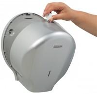 Distributeur Papier Hygiénique 200M LENSEA ABS GRIS - ROSSIGNOL